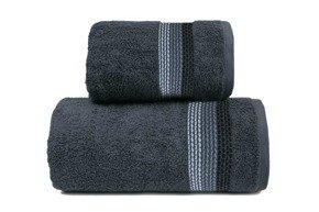 OMBRE  POPIELATY ręcznik bawełniany FROTEX