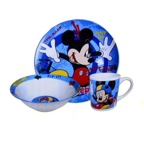 Zestaw Obiadowy Dla Dzieci Myszka Miki Bajki Disney