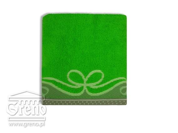 ARCO CIEMNY ZIELONY ręcznik bawełniany GRENO