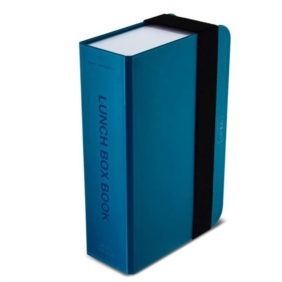 BB - Lunch box- książka, niebieski