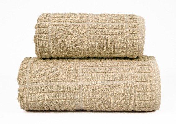 BONITA BEŻOWY ręcznik bawełniany Frotex