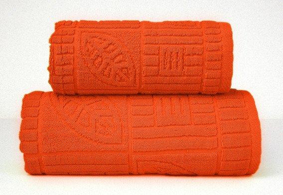 BONITA POMARAŃCZOWY ręcznik bawełniany GRENO
