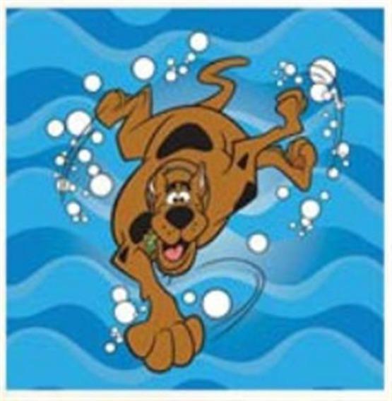 Bajkowy ręcznik 30x30 Detexpol Scooby-Doo Nurek