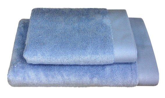 Bamboo Style Pudrowy Niebieski Komplet Ręczników Bambusowych Andropol