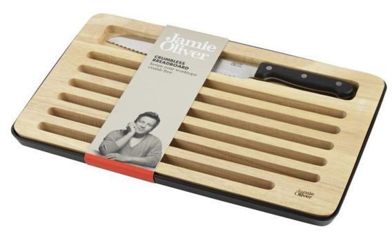 Deska do krojenia chleba + nóż Jamie Oliver 900153
