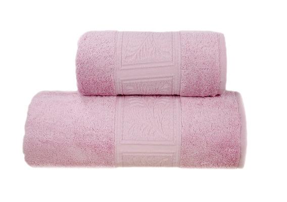 ECCO BAMBOO RÓŻOWY Ręcznik Bambusowy Greno