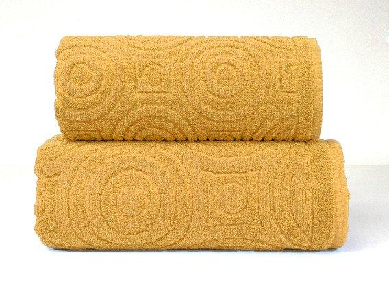 EMMA 2 Curry ręcznik bawełniany GRENO