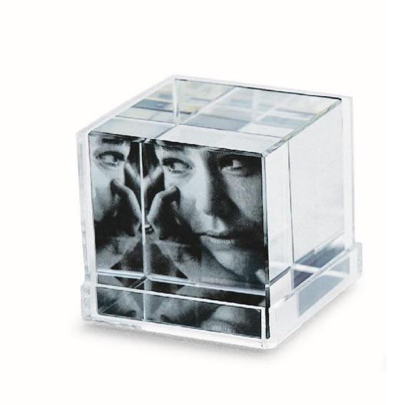 Ekspozytor zdjęć Cubic,5 x 5 x 5 cm