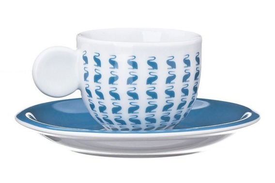 Filiżanka do espresso AIRONI United Colors of Benetton, 4 kolory niebieski