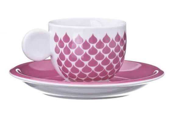 Filiżanka do espresso GOCCE United Colors of Benetton, 4 kolory czerwony