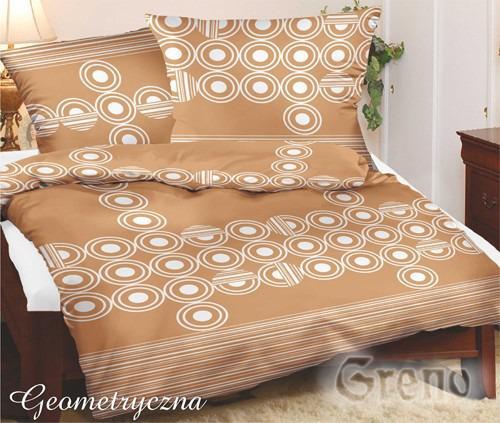 GEOMETRYCZNA Pościel satynowa Special Edition Greno