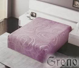 Koc BARSA, wybór kolorów Greno lila