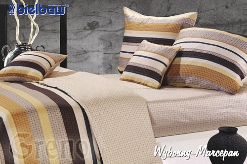 Pościel Satynowa Wyborny Marcepan  2010 Premium Bielbaw
