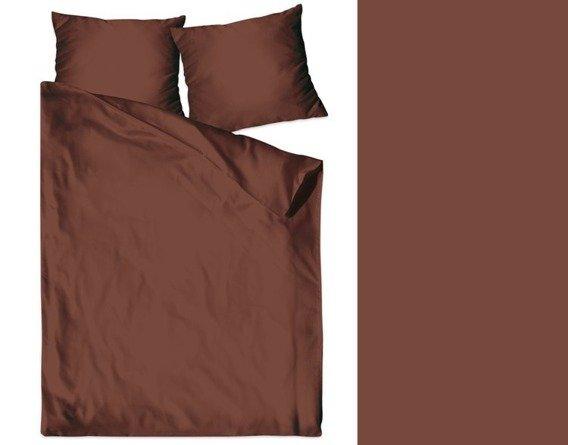 Pościel satynowa Bielbaw brązowy