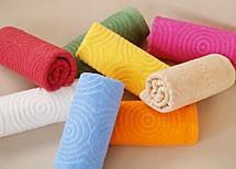 Ręcznik BORA Greno różowy