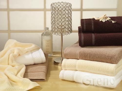 Ręcznik Bawełniany SPA LOVER GRENO kremowy
