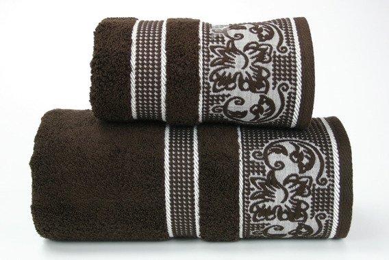 Ręcznik DYNASTY Greno czekoladowy