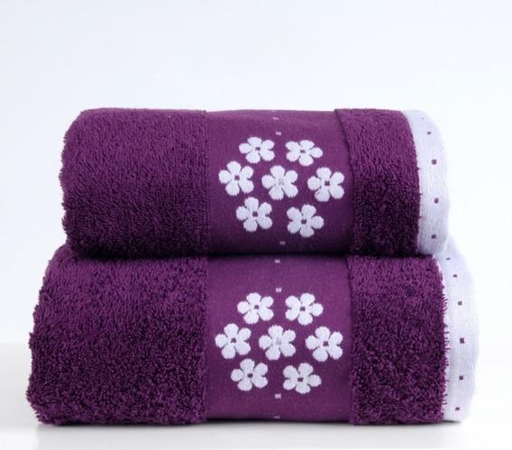 Ręcznik LE GRAND Greno śliwkowy