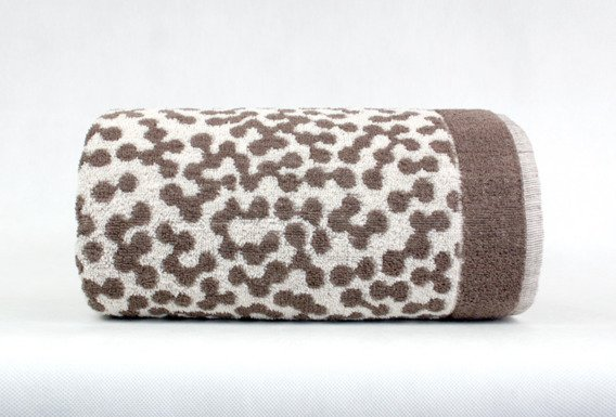 Ręcznik MARCO Frotex brąz krem