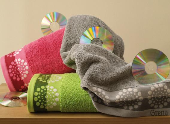 Ręcznik SATELITE Greno stalowy
