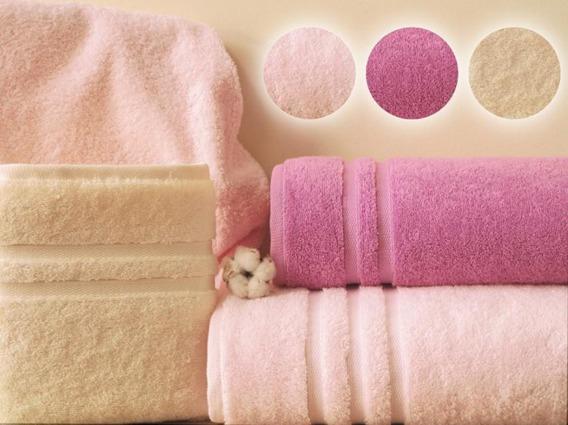 Ręcznik SILK TOUCH Greno różowy