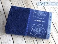 Ręcznik VIP Greno granatowy