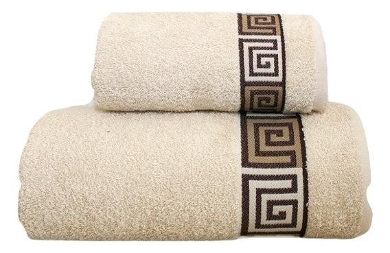 Ręcznik bawełniany DUNAJ Frotex kremowy