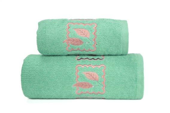 Ręcznik bawełniany GRACJA Greno zielony