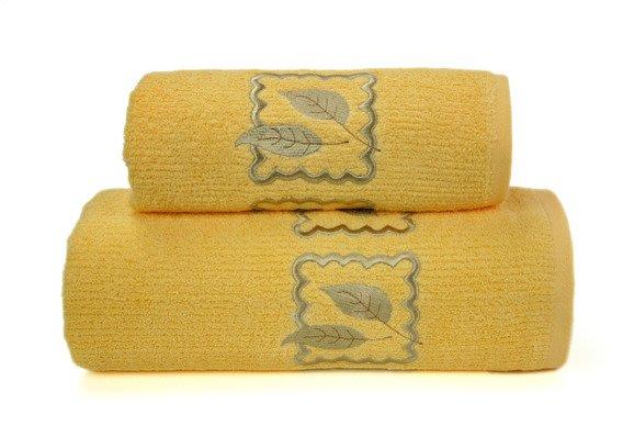 Ręcznik bawełniany GRACJA Greno żółty