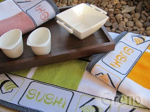 Ręcznik kuchenny SUSHI Greno zielony