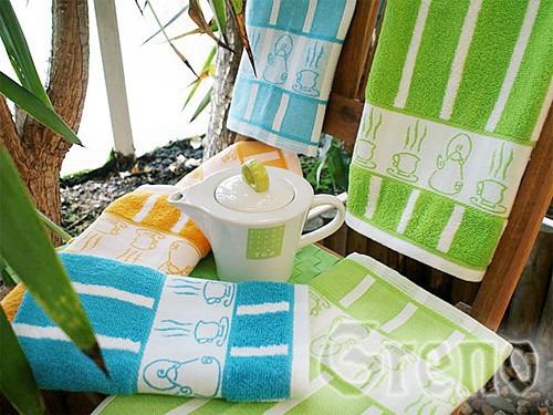 Ręcznik kuchenny TEA POT Greno żółty