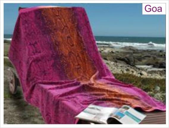 Ręcznik plażowy GOA 100x170 Greno