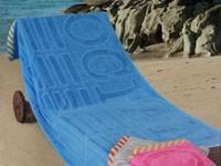 Ręcznik plażowy OCEAN Greno niebieski