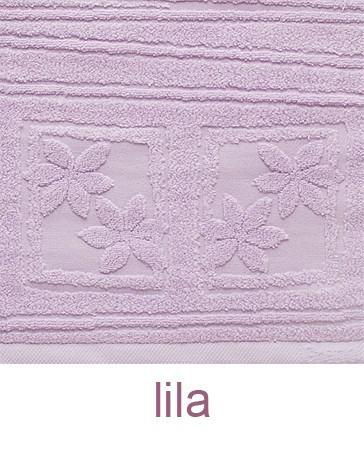 Ręcznik z mikrobawełny Laura GRENO lila