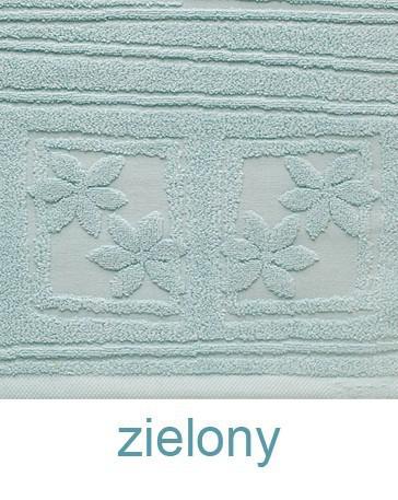 Ręcznik z mikrobawełny Laura GRENO zielony