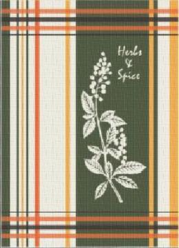 Ściereczka kuchenna HERBS&SPICES Greno, 2 kolory zielony