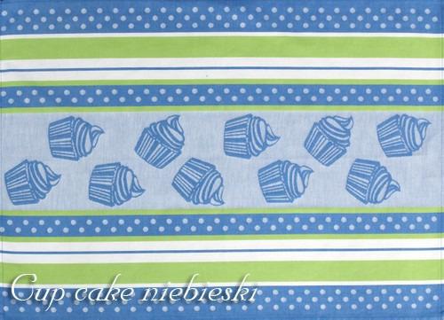 Ściereczki kuchenne, 2 kolory CUP CAKE Greno niebieski